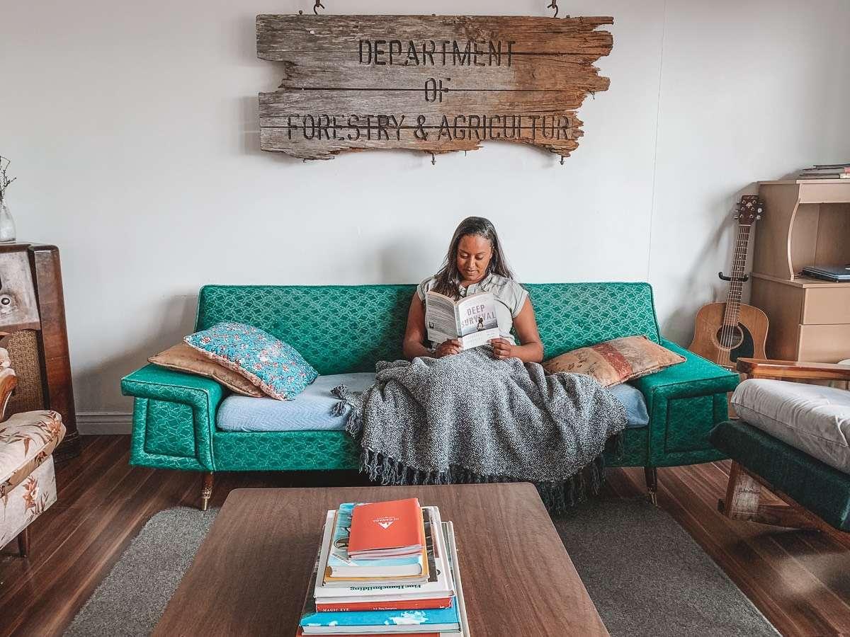 Skerwink Hostel Living Room
