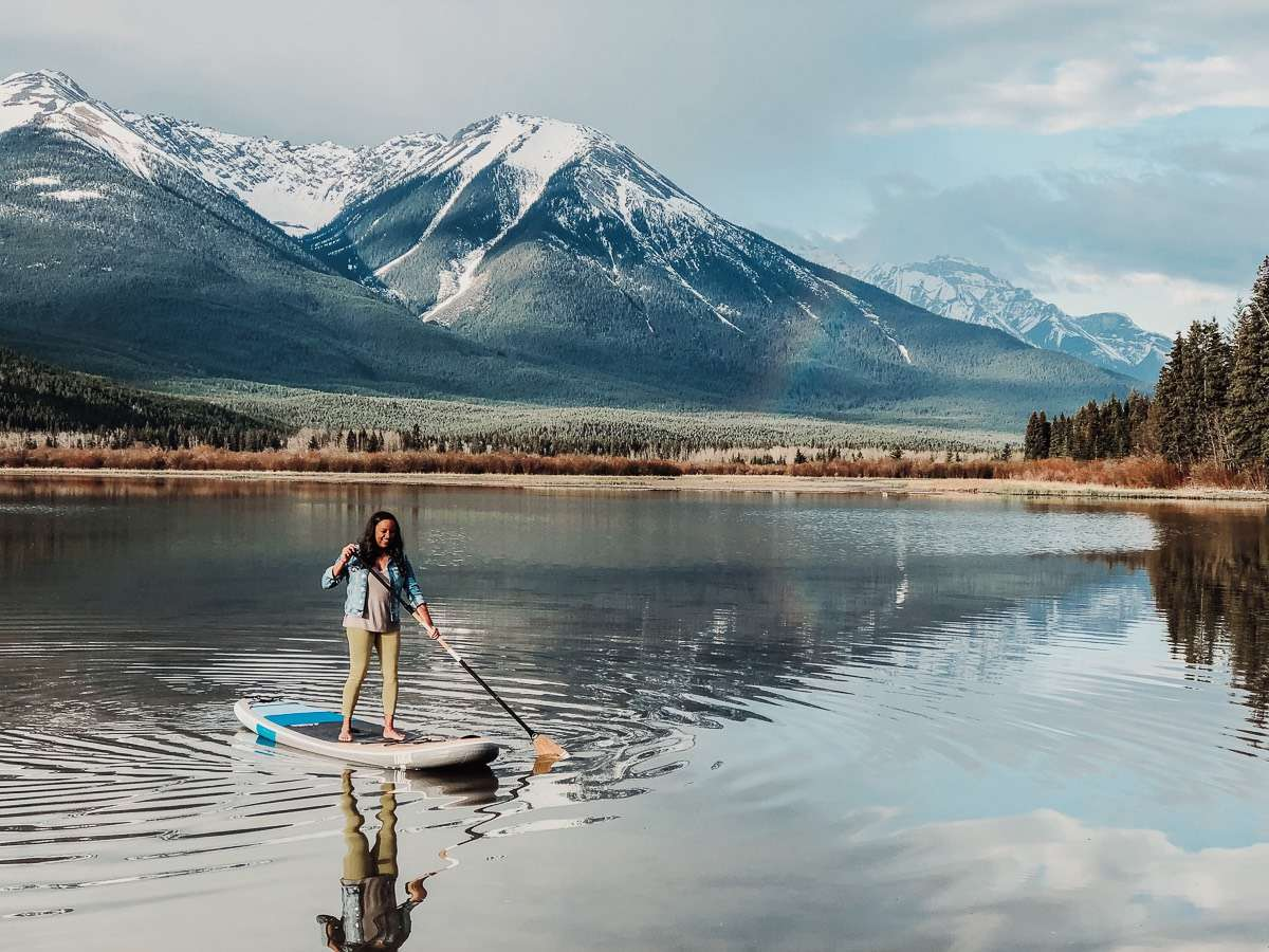 Vermillion Lakes - Backpacking Canada: 10 days in Alberta - Nomad Junkies