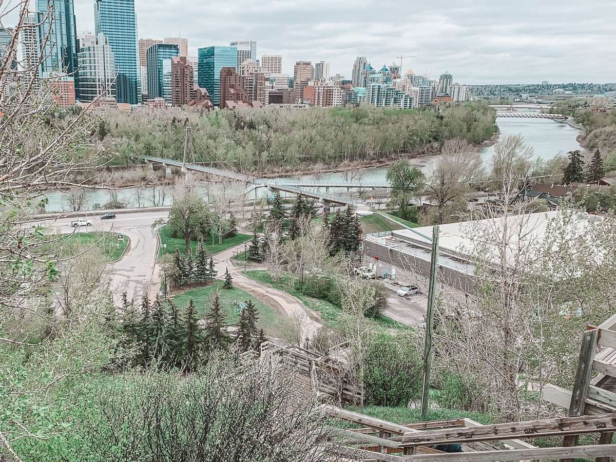 Viewpoint Calgary - Backpacking Canada: 10 days in Alberta - Nomad Junkies