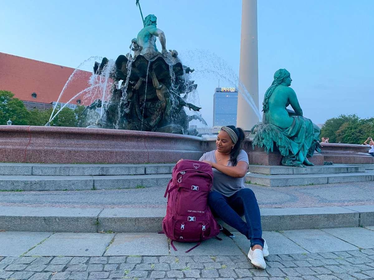 Adventurous Travel backpack
