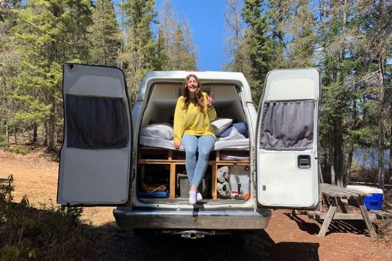 J'ai essayé le campervan au lieu de la tente en camping pour la toute première fois