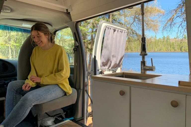 Passe un weekend en campervan dans Lanaudière avec ta personne préférée
