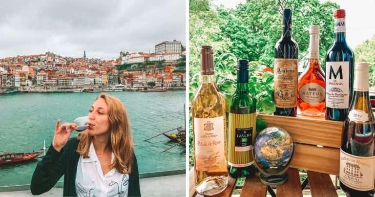 Tu pourrais gagner 6 bouteilles de vin pour transformer ton été en eurotrip