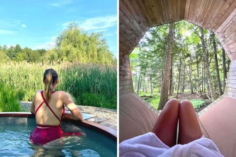Ce spa te donnera l'impression de voyager autour du monde tout en relaxant