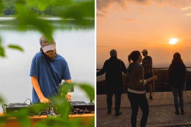 DJ sets en plein air : des escapades sonores qui te feront découvrir les parcs du Québec