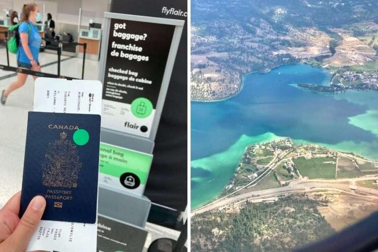 Backpackers | J'ai testé un vol  à 74$ vers l'Ouest canadien avec Flair Airlines (et voici ce que tu dois savoir)